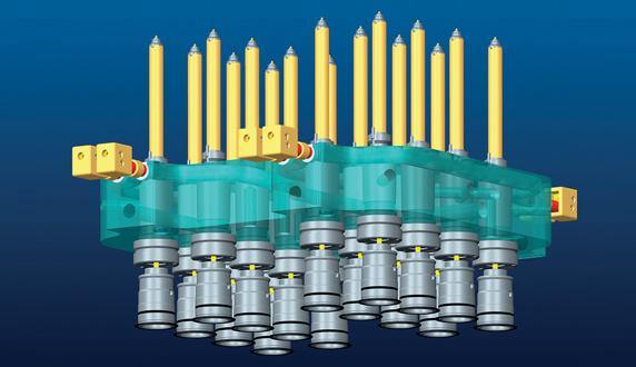 mini valve gate nozzle